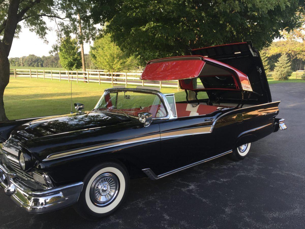 1957 Ford Fairlane Retractable Hardtop Convertible Ken