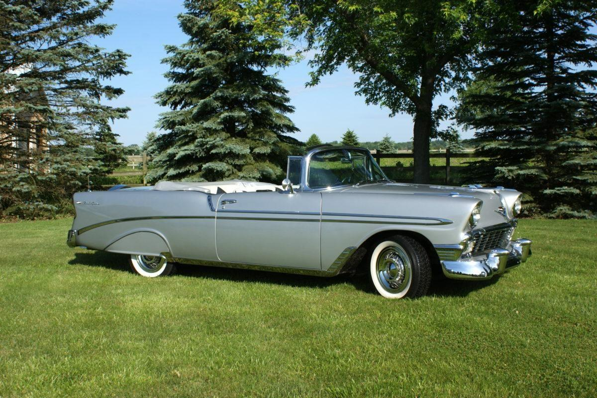 1956 Chevy Bel Air Convertible Ken Nagels Classic Cars 1957 Impala