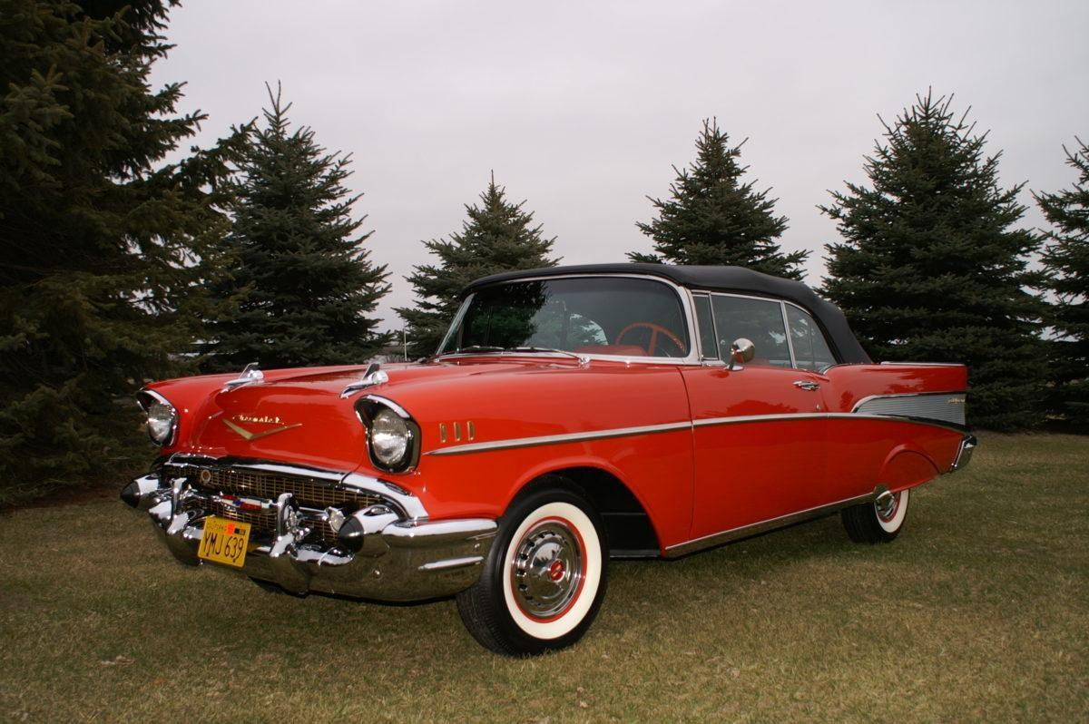 1957 Chevy Bel Air Convertible Dual Quad Ken Nagels Classic Cars 1966 For Sale