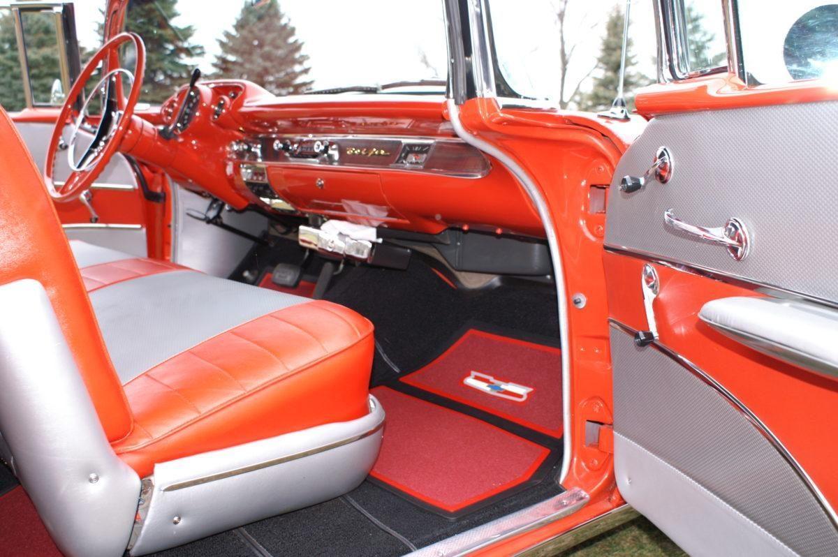 1957 Chevy Bel Air Convertible Dual Quad Ken Nagels Classic Cars Colors Chevrolet