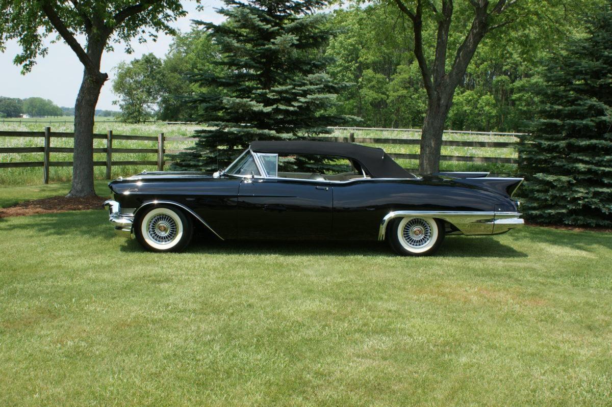 1957 Cadillac Eldorado Biarritz Ken Nagels Classic Cars 57