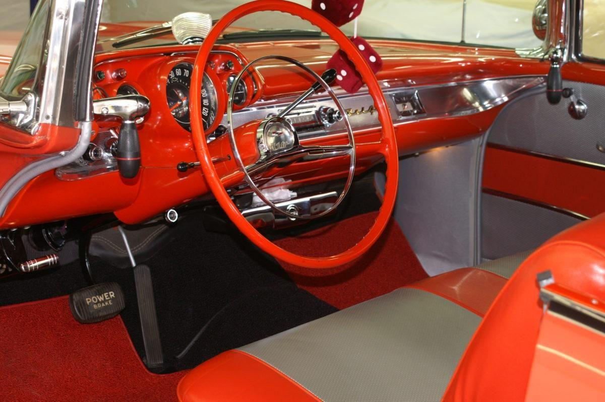 1957 Chevy Bel Air Convertible Fuel Injected Ken Nagels Classic Steering Column Wiring Harness Chevrolet